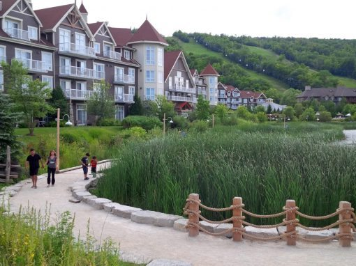 Blue Mountain Village Boardwalk
